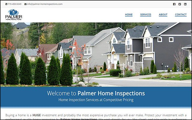 Preview of Palmer Home Inspections project.